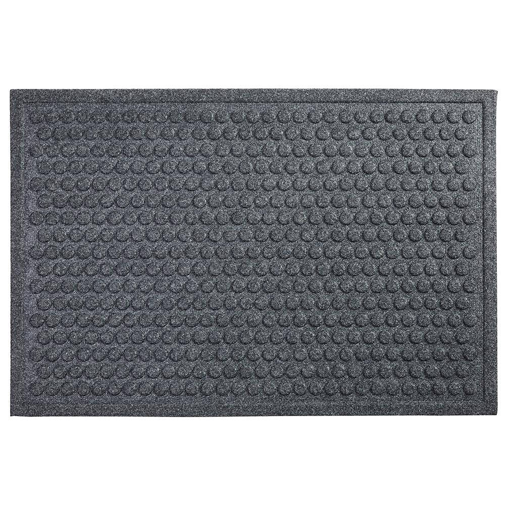 Mohawk Home Dots Charcoal 36 In X 48 In Impressions Mat