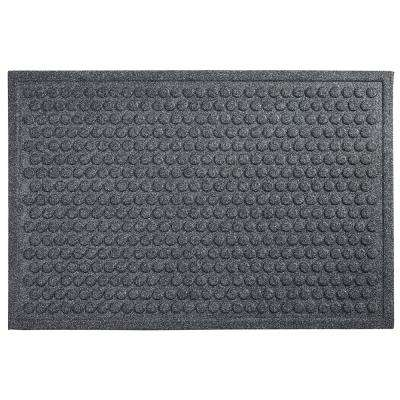 Dots Charcoal 24 in. x 36 in. Impressions Mat