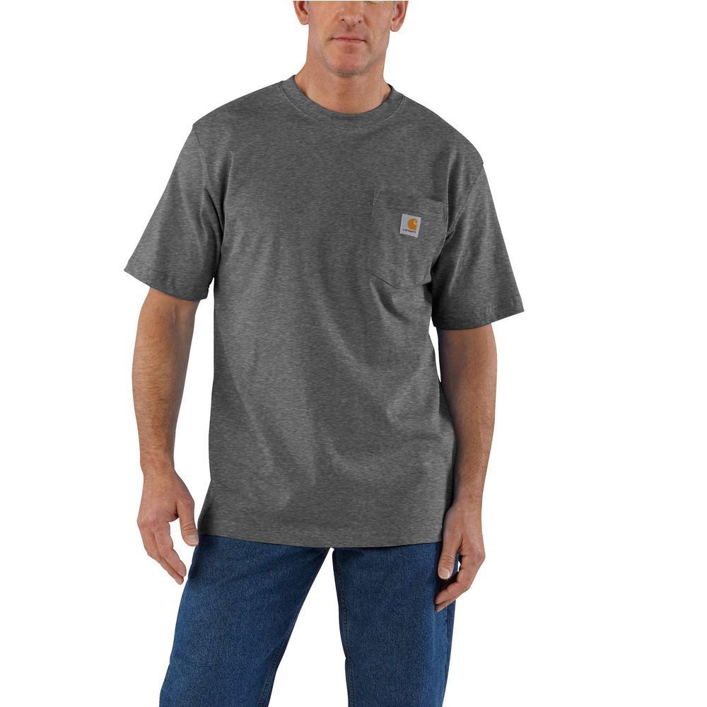Carhartt K87 Men/'s Workwear Pocket Short Sleeve T-Shirt Midweight NEW