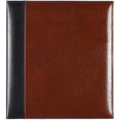 4 in. x 6 in. Brown Magnetic Photo Album