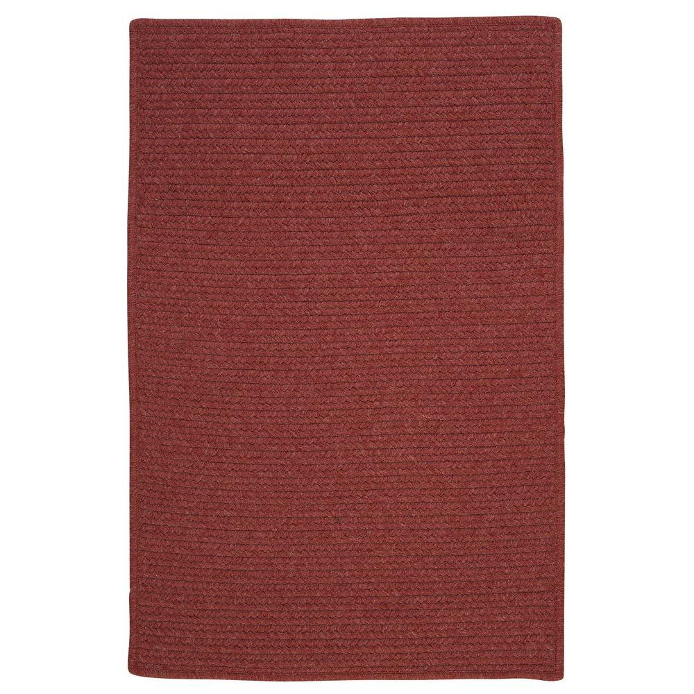 Wilshire Rosewood 8 ft. x 10 ft. Braided Area Rug