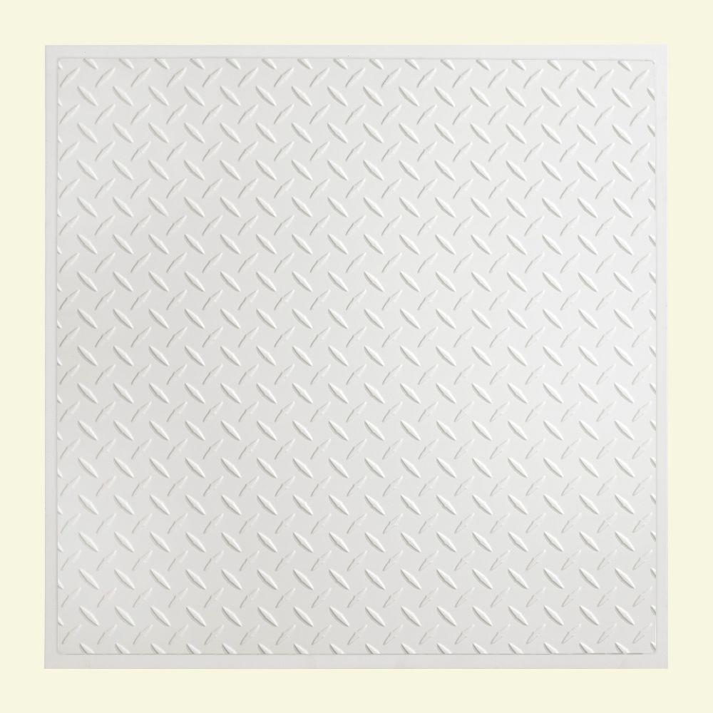Diamond Plate 2 ft. x 2 ft. Revealed Edge Lay-in Ceiling