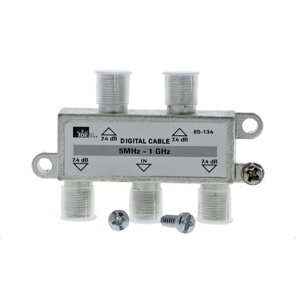 4-Way - AV Splitters & Signal Amplifiers - AV Cables & Connectors ...