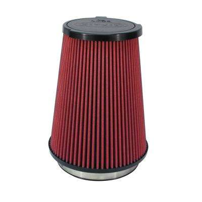 10-14 Ford Mustang Shelby 5.4L Supercharged Direct Replacement Filter - Dry / Red Media