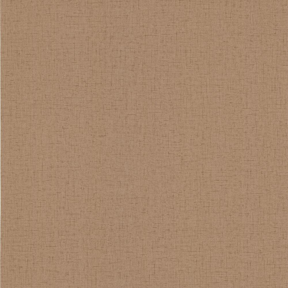null 56 sq. ft. Maia Brown Texture Wallpaper