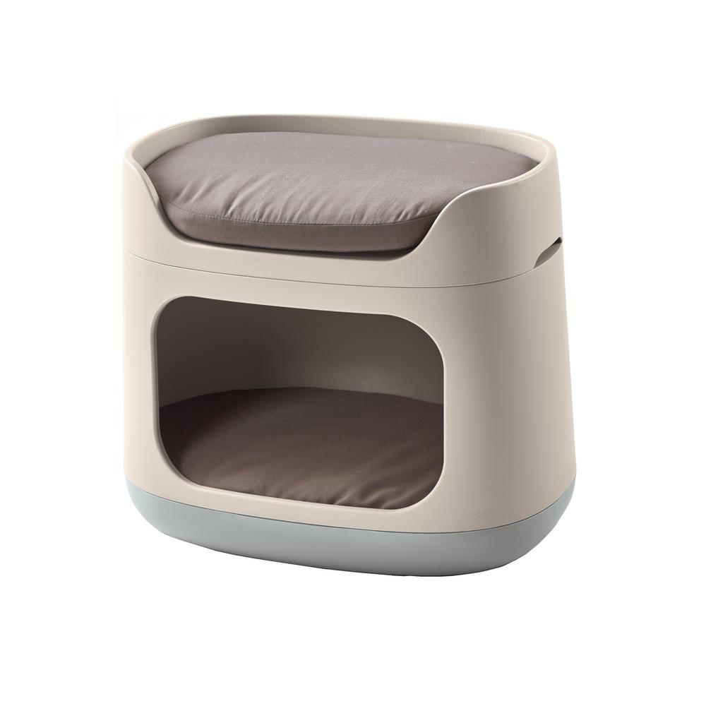 Keter Pet Bunkbed 3 In 1 Small Sandy Misty Blue Resin Lounge Bed