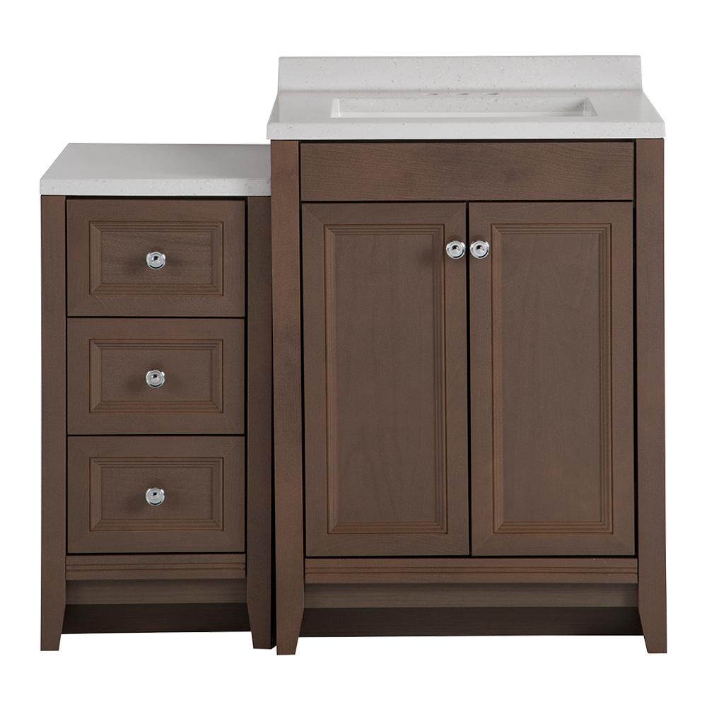 Glacier Bay Delridge Bath Suite With 24 In W Bathroom Vanity