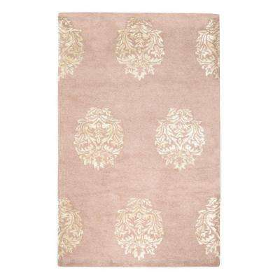Martine Pink 2 ft. x 3 ft. Area Rug