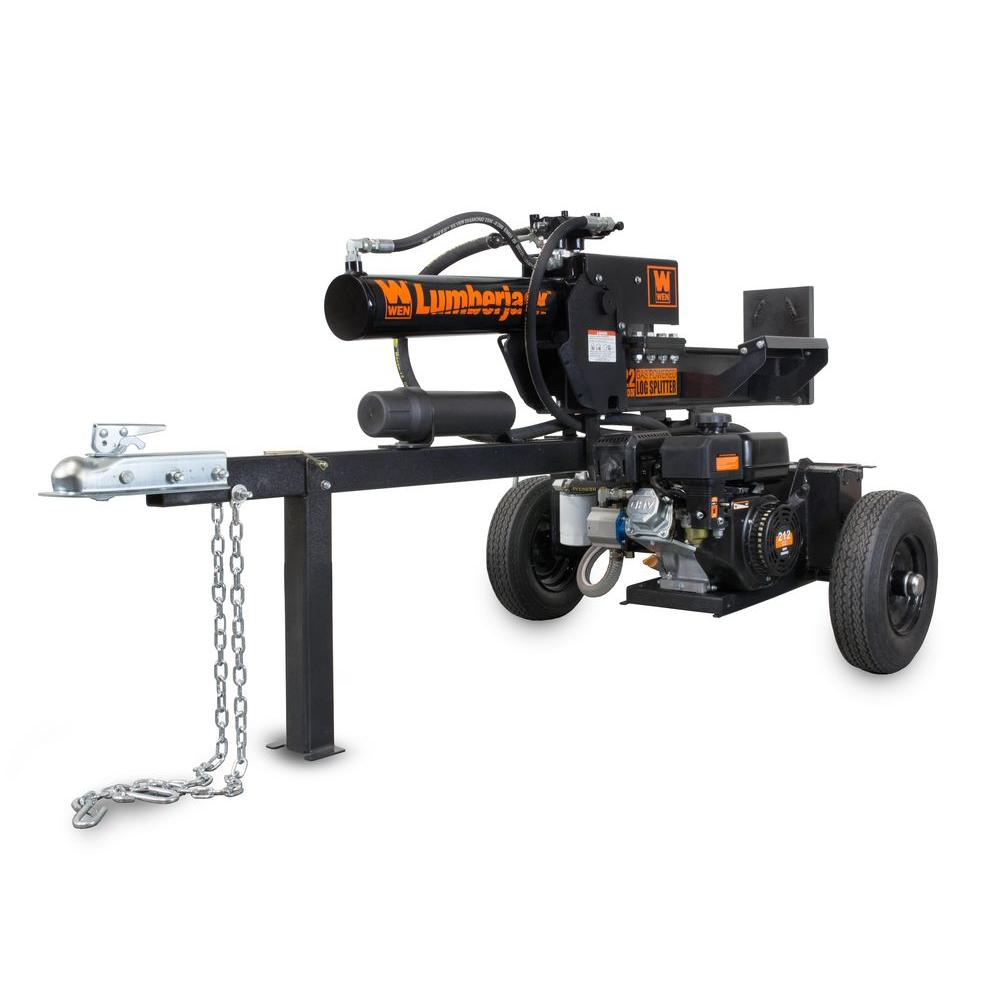 Lumberjack 22-Ton 212cc Gas-Powered Log Splitter - Carb Compliant