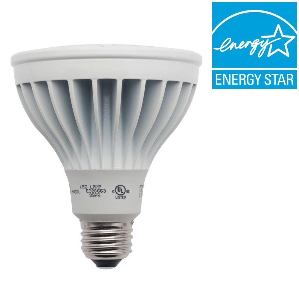 Definity 90W Equivalent Warm White (3000K) PAR30 Dimmable Narrow Flood LED Light Bulb