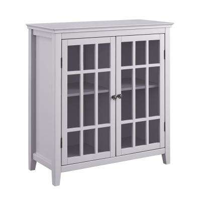 Payton Gray Double Door Cabinet