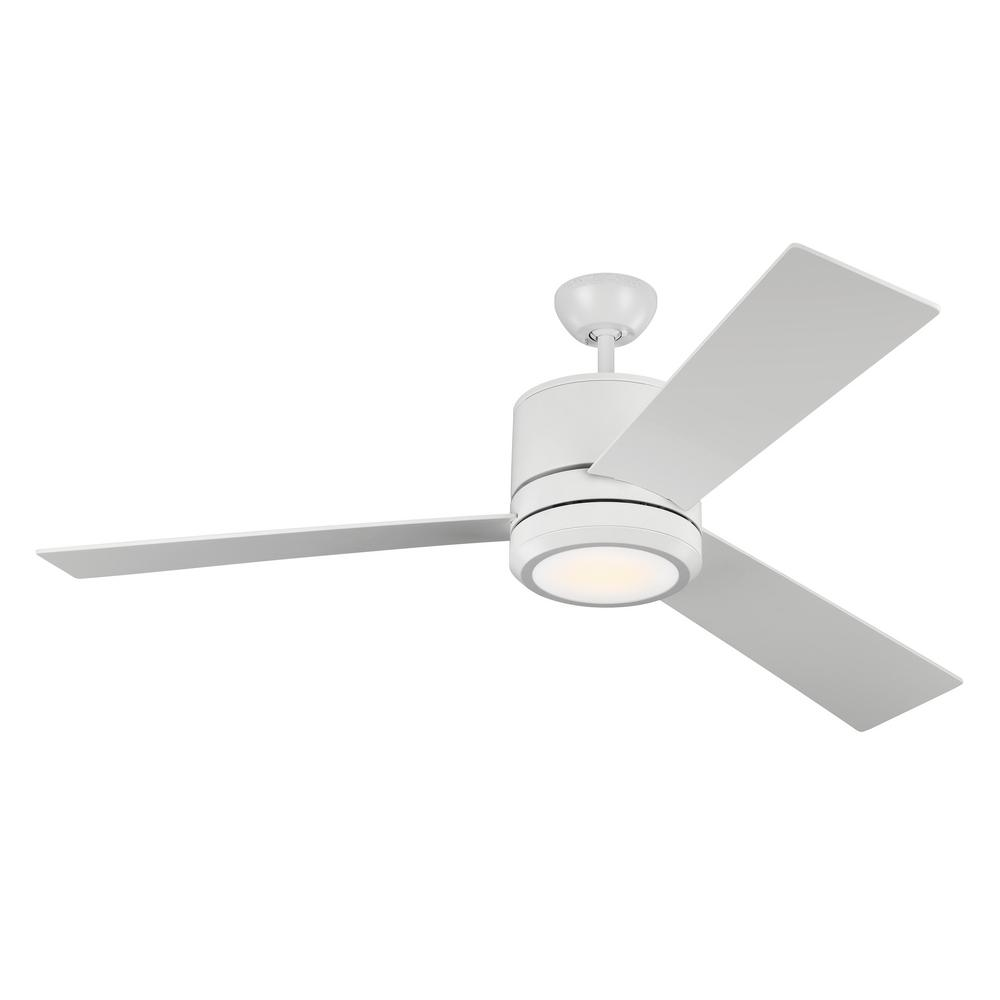 Monte Carlo Vision Max 56 In Indoor Outdoor Rubberized White Ceiling Fan