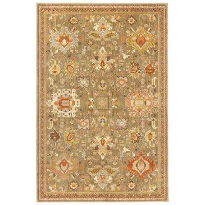 Grayson Green 9 ft. 6 in. x 12 ft. 2 in. Area Rug