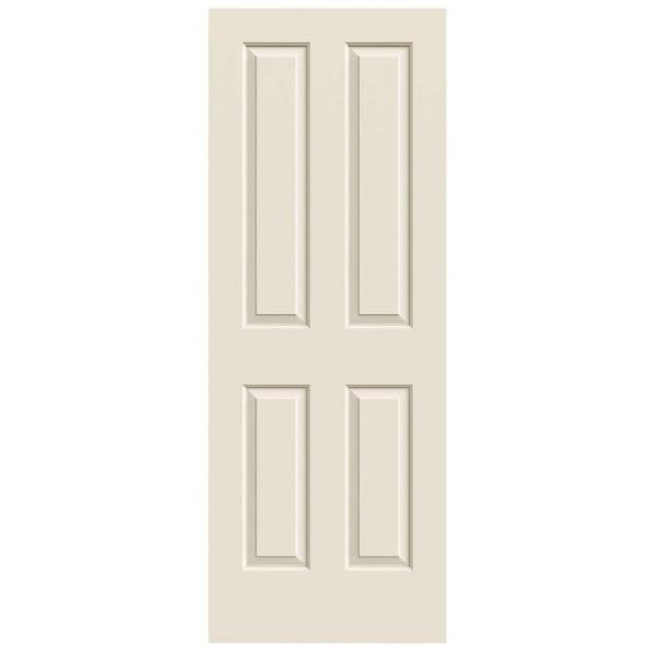 30 in. x 80 in. Atherton Primed Smooth Molded Composite MDF Interior Door Slab