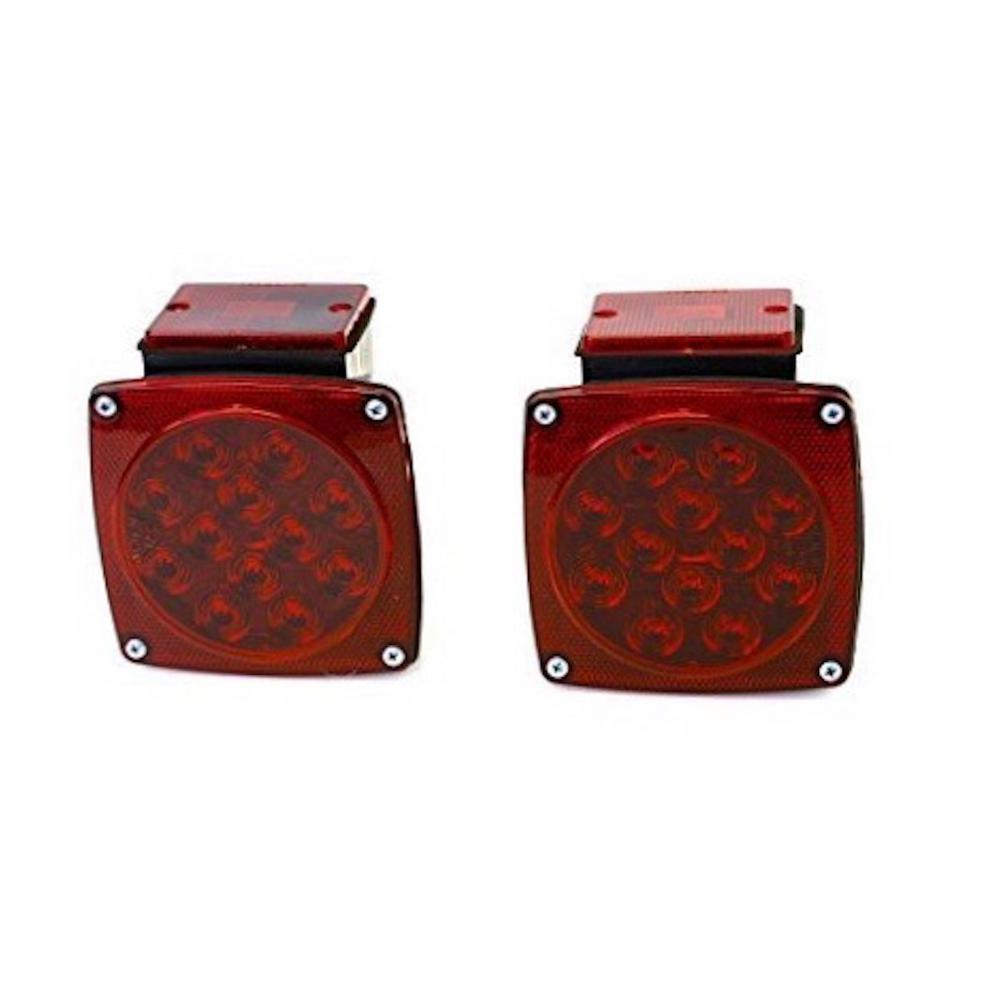 MaxxHaul 12-Volt ALL LED Submersible Trailer Tail Lights ...