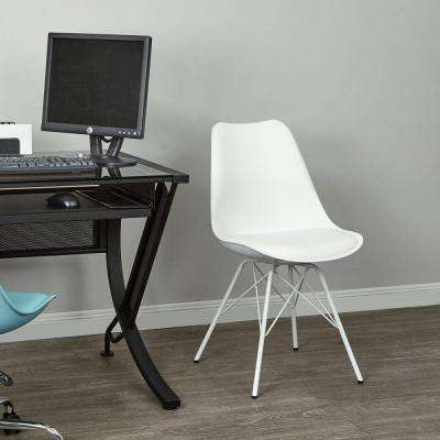 Emerson White Student Side Chair
