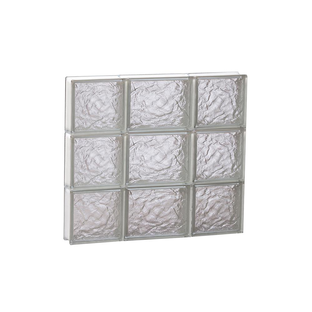 Clearly Secure 19.25 in. x 17.25 in. x 3.125 in. Frameless Ice ...