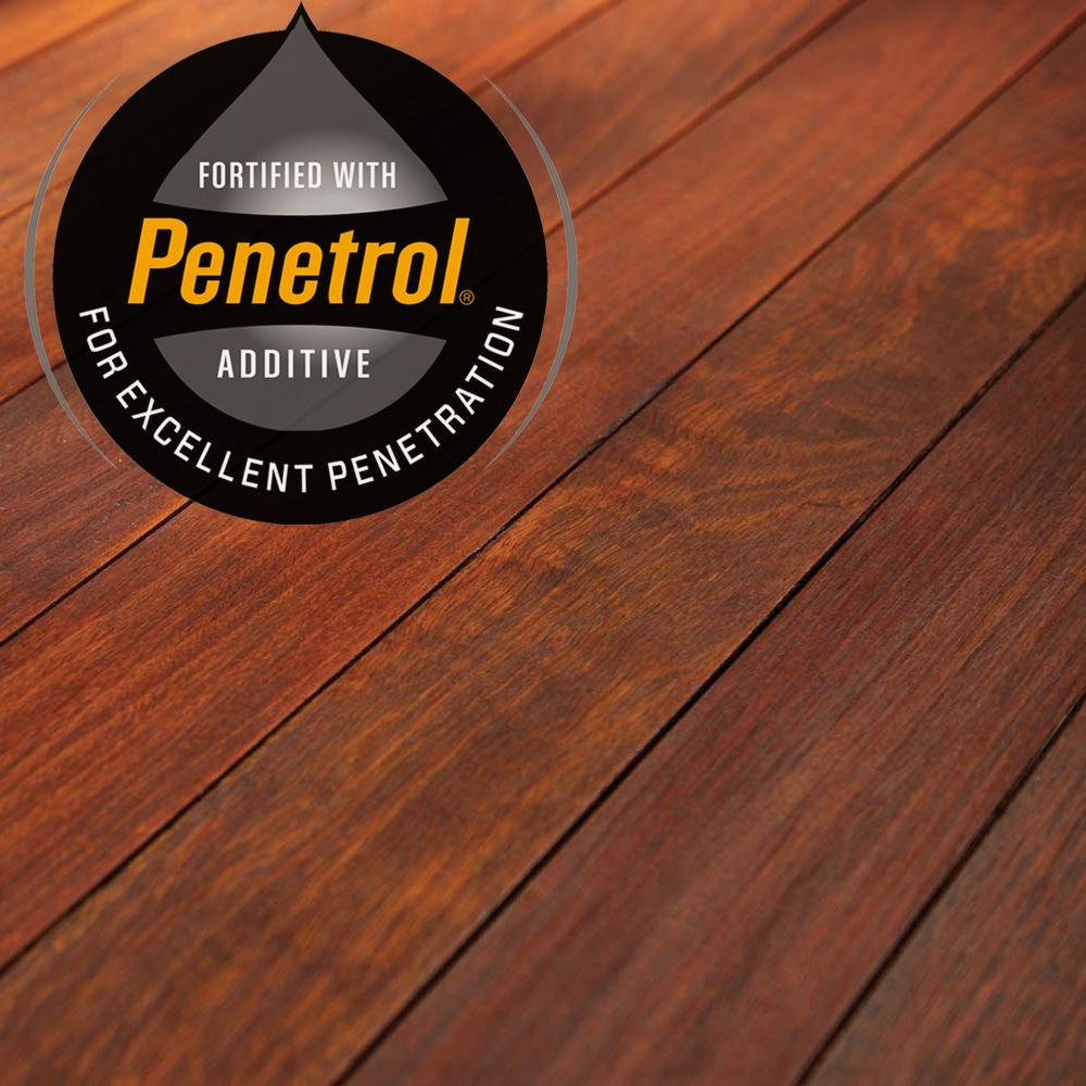 Flood 1 Gal Redwood Transparent Cwf Uv Penetrating Exterior Wood Stain Fld521 01 The Home Depot