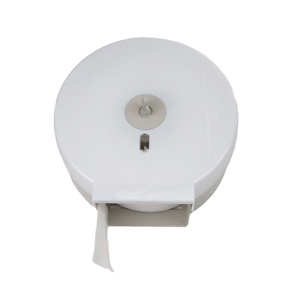 Mind Reader Wall Mounted Bathroom Tissue Dispenser Toilet Paper