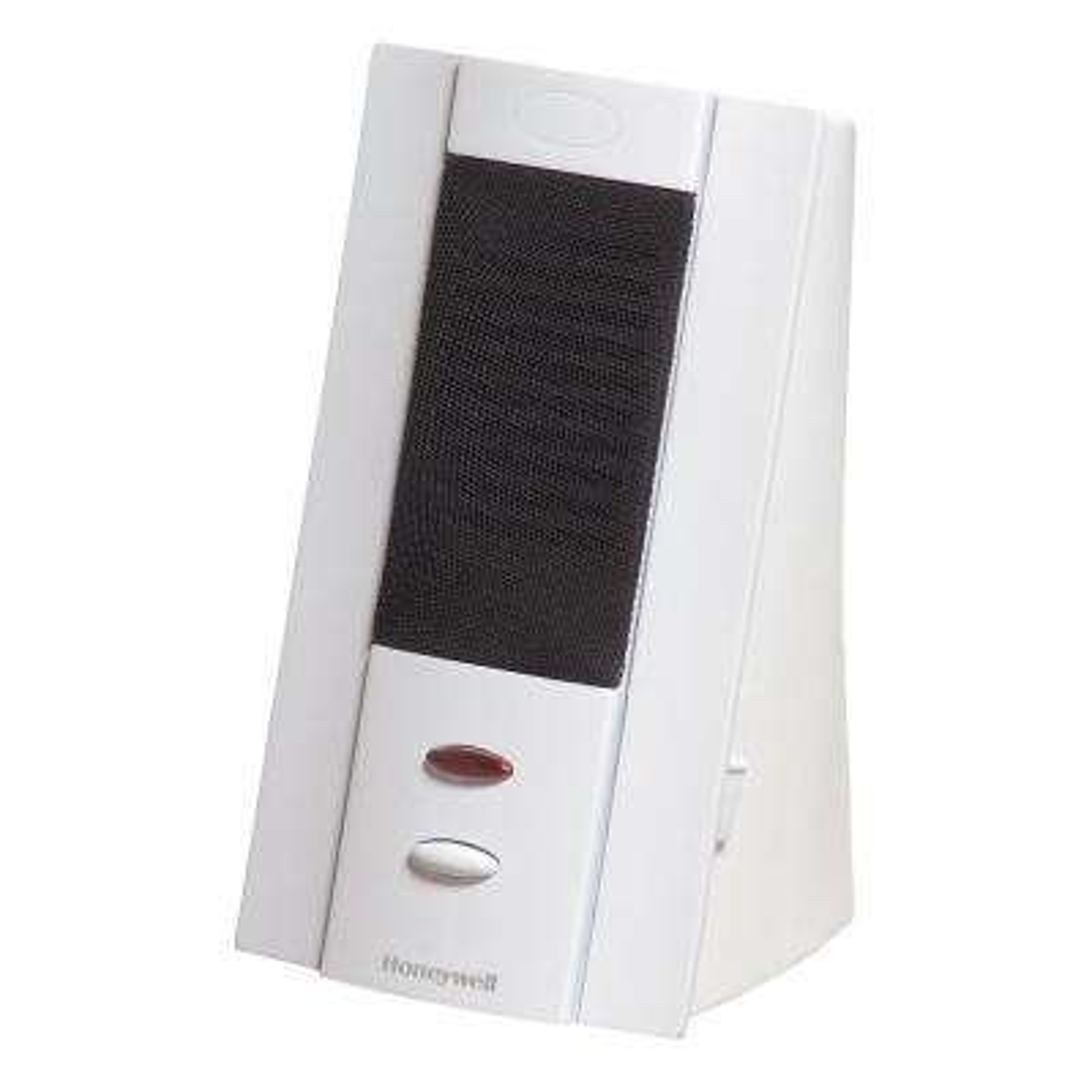 Tabletop White Wireless Four Tune Door Chime, 150 ft. Range