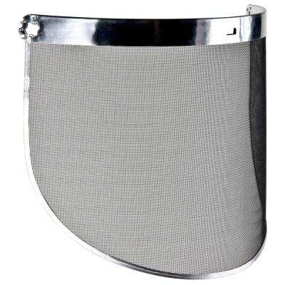 Steel Mesh Screen Molded Faceshield (Case of 10)
