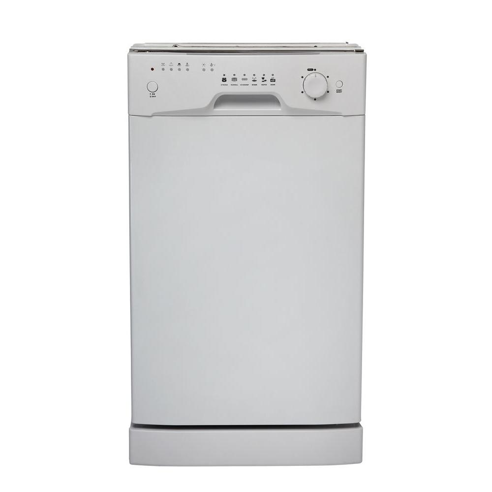 Danby Built-In Dishwasher in White-DISCONTINUED