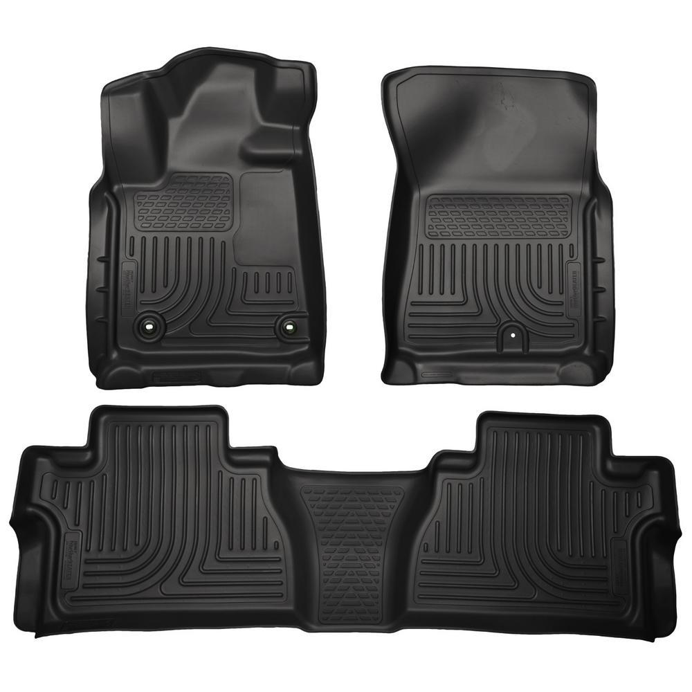 Husky Liners 63731 2nd Seat Floor Liner Fits 98-11 Ranger SuperCab Black