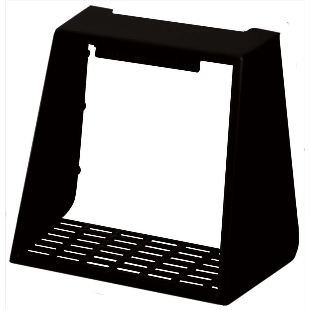 Builders Edge 4 in. Hooded Vent Small Animal Guard #002-Black