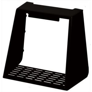 Builders Edge 4 inch Hooded Vent Small Animal Guard #002-Black by Builders Edge