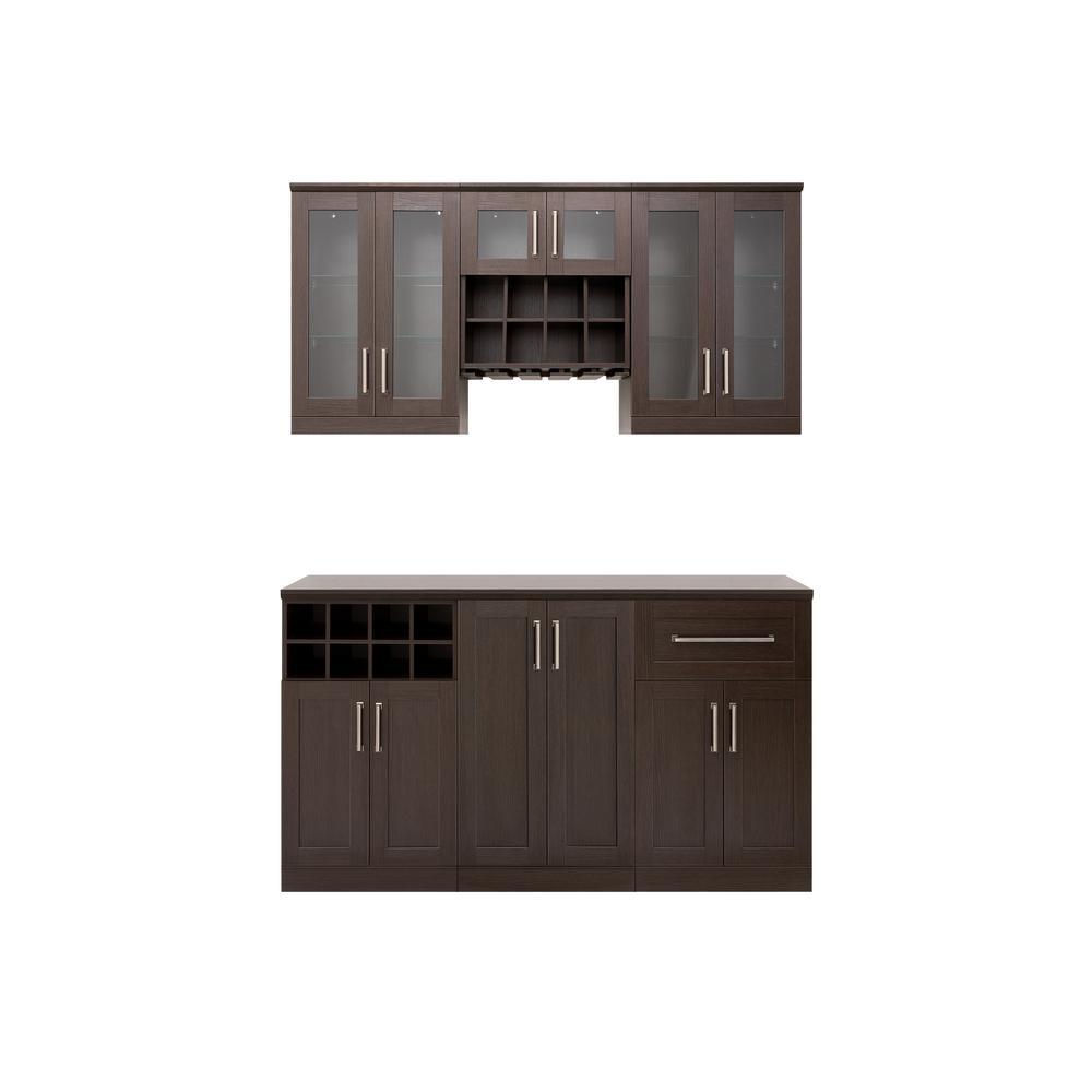 Bar Cabinets Home Bars Bar Sets Kitchen Dining Room Furniture The Home Depot