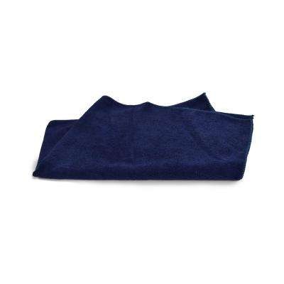 Navy 16 in. x 27 in. Microfiber Kitchen Towels (180-Pack)