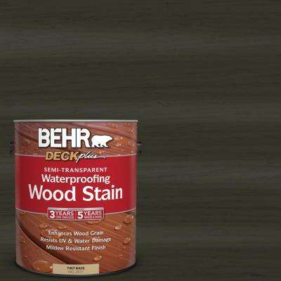 1 gal. #ST-108 Forest Semi-Transparent Waterproofing Wood Stain