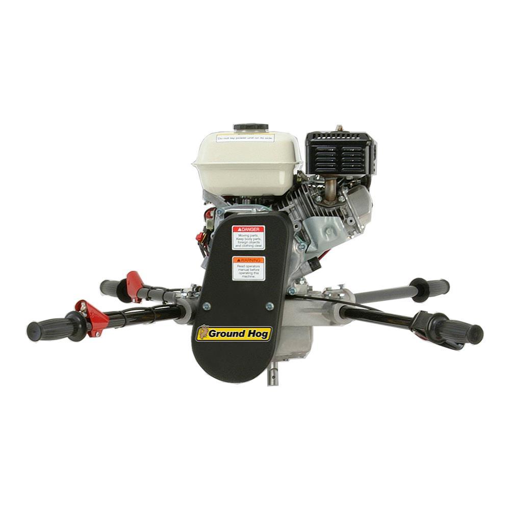 2-Person 160cc Earth Auger Powerhead  4-Stroke Honda Gas Engine