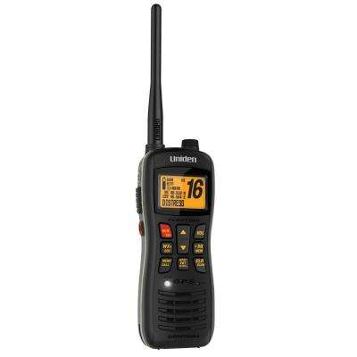 8 Mile 88 Channel Handheld Submersible/Floating 2-Way VHF Marine Radio