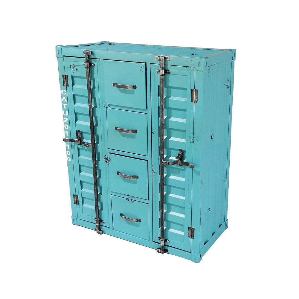 Debrecen Rustic Blue Cabinet