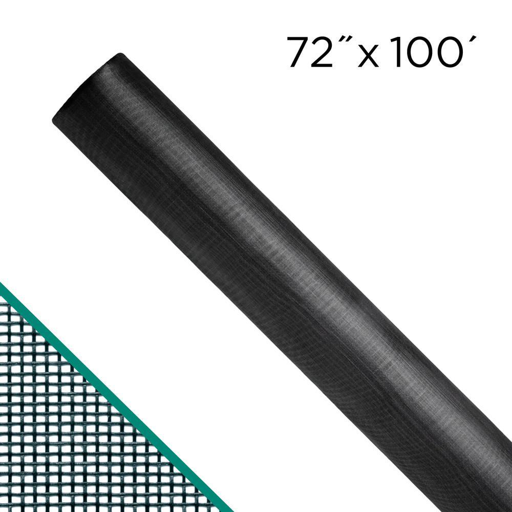"72/"" x 100/' Charcoal ADFORS Premium Pool and Patio Screen"