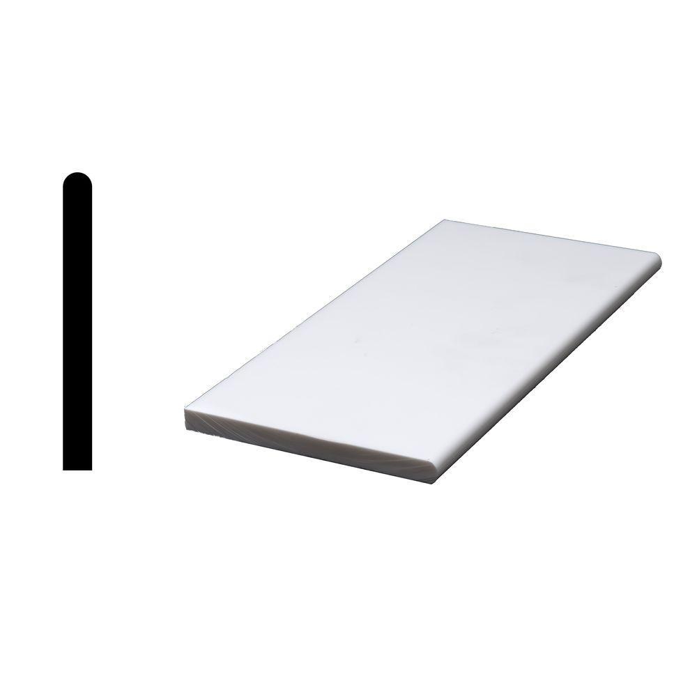 Siltech Innovative Windowsill Products Designer White 1/2 in. x 4-7 ...