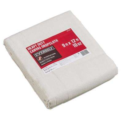 8 ft. 9 in. x 11 ft. 9 in. 10 oz. Canvas Drop Cloth