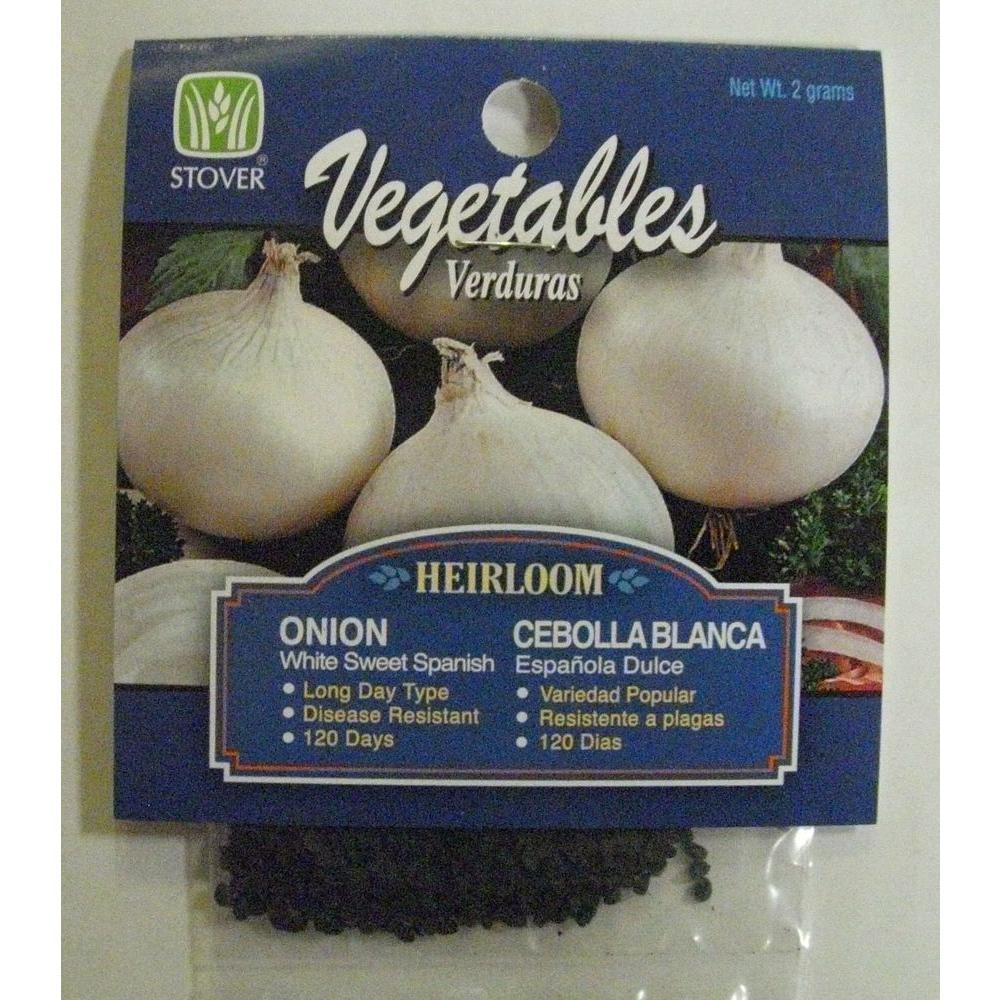Sweet White Spanish Onion Seed