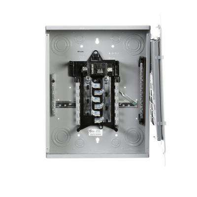 100-Amp 12-Space 24-Circuit Main Breaker Load Center