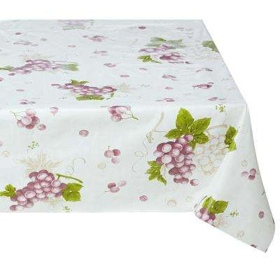 55 in. x 102 in. Indoor and Outdoor Sunflower Design Table Cloth for Dining Table