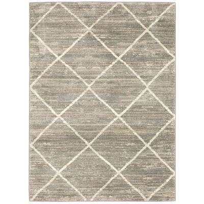 Luciana Gray 7 ft. 10 in. x10 ft. Area Rug