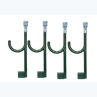 4 Extended Universal Hooks In Bistro Green