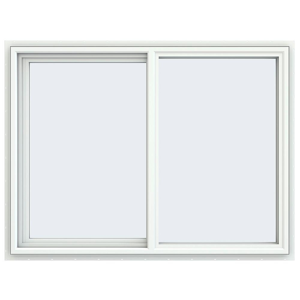 47.5 in. x 35.5 in. V-4500 Series Left-Hand Sliding Vinyl Window