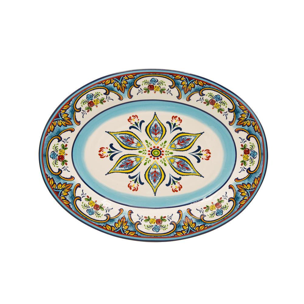 Zanzibar Oval Platter
