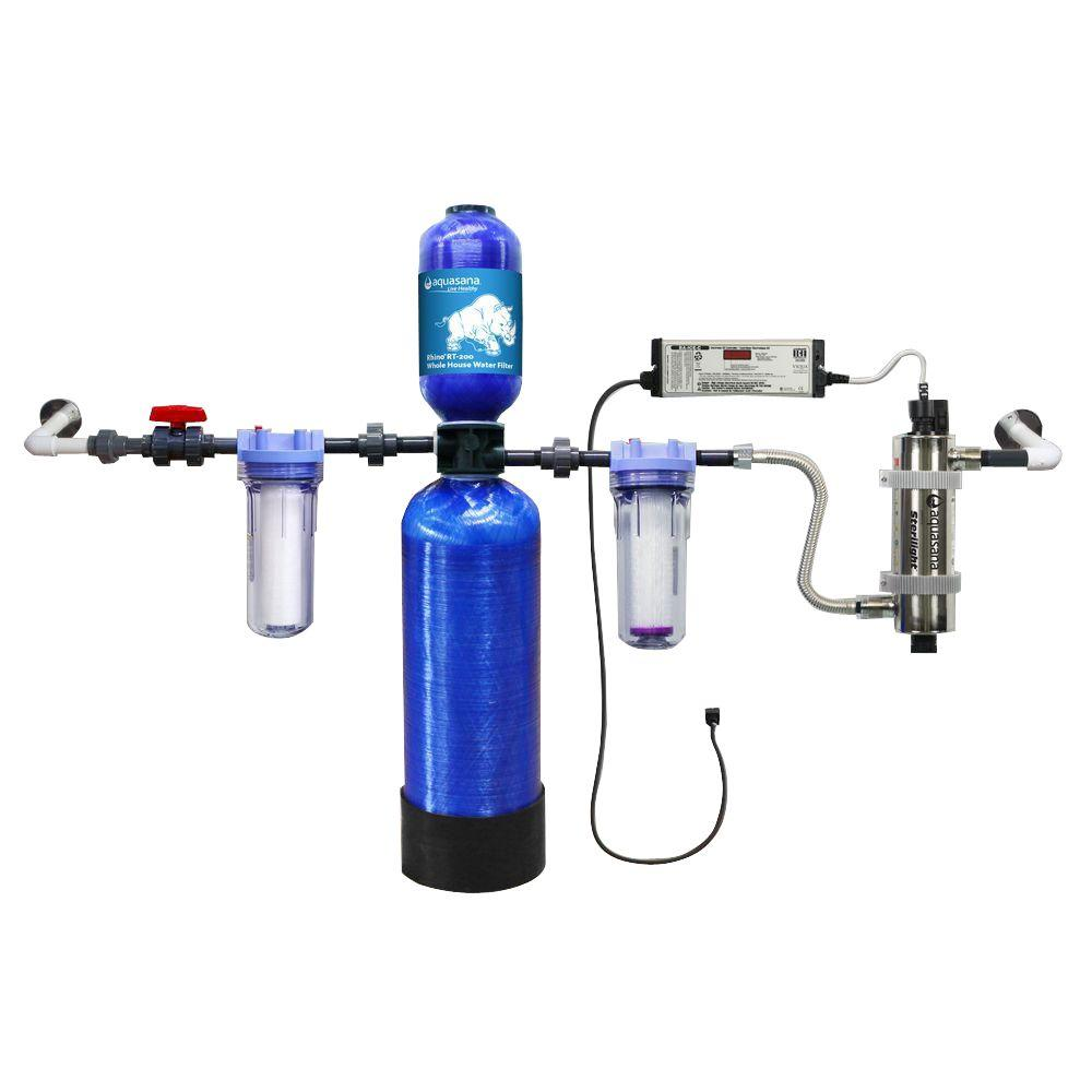 Aquasana Whole House Well Water Filtration System