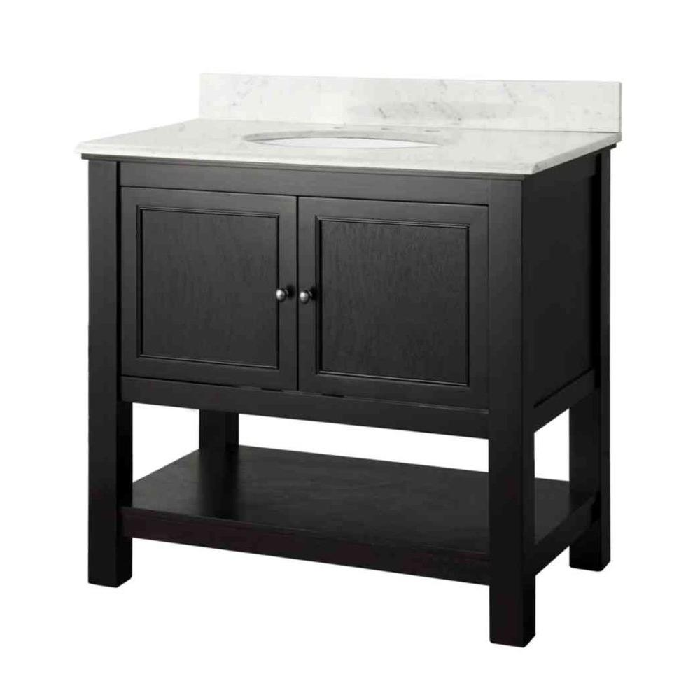 Gazette 37 in. W x 22 in. D Bath Vanity in