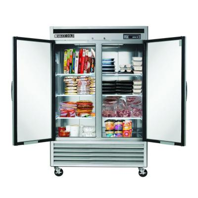 49 cu. ft. Commercial Upright Reach-In Freezer in Stainless