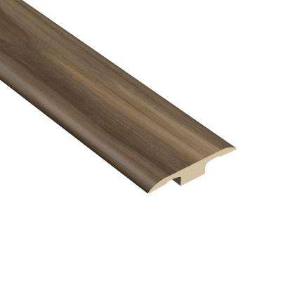 Acacia Nutmeg 1/4 in. Thick x 1-3/8 in. Wide x 94-1/2 in. Length Vinyl T-Molding