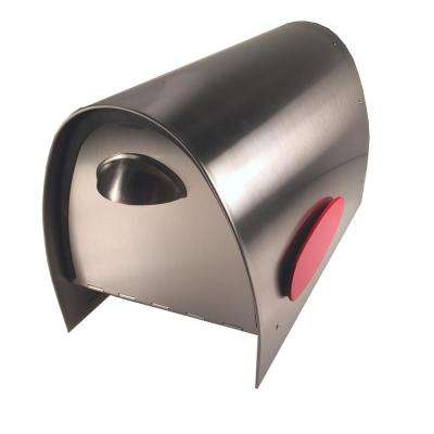 Spira Stainless Steel Post Mount Mailbox